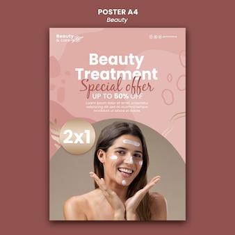 Designvorlage für schönheitsplakate