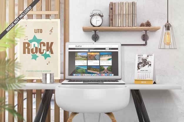 Desk scene creator-modell