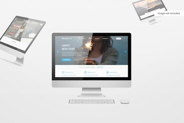 Desktop-bildschirmmodell