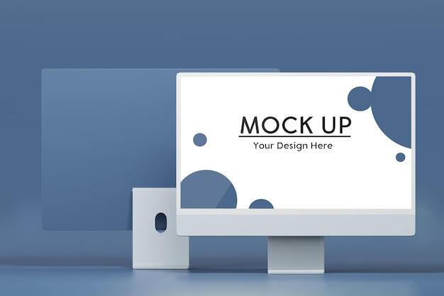 Desktop-computer-mockup-design