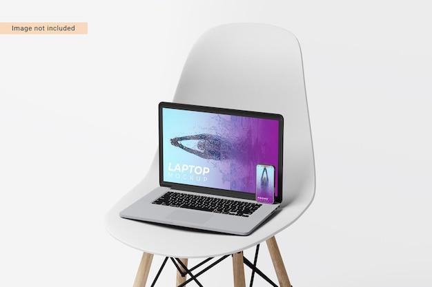 Desktop-modell-design isoliert