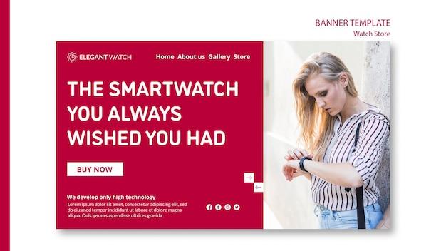 Die smartwatch, von der sie sich immer gewünscht haben, sie hätten ein banner