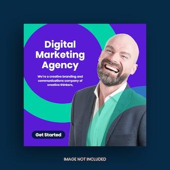 Digital business marketing social media post