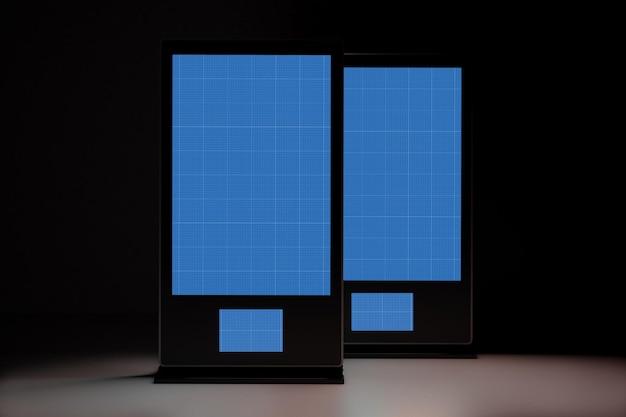 Digital signage im dunkeln