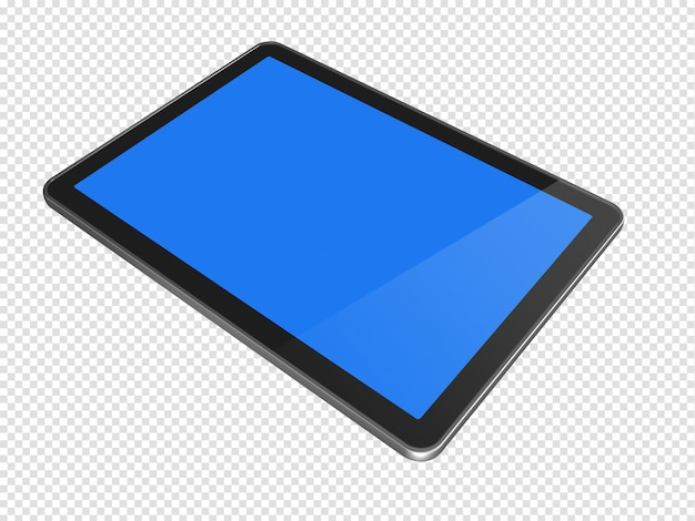 Digitaler 3d-tablet-pc