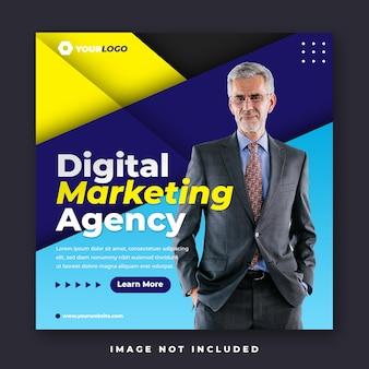Digitales marketing social media instagram feed post banner