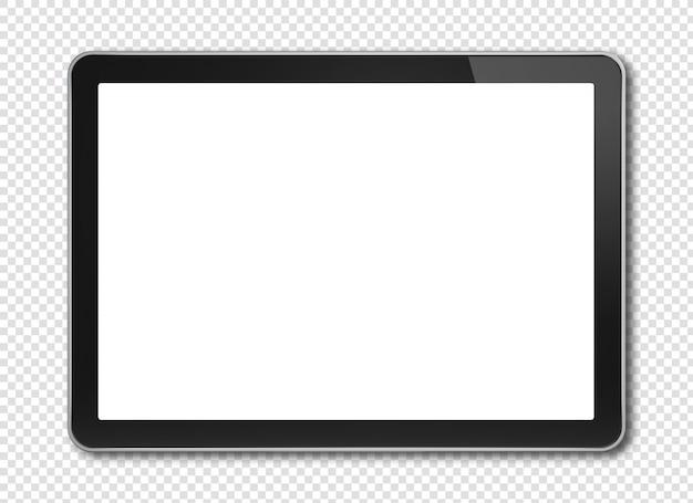 Digitales tablet mit modellbildschirm