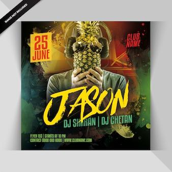 Dj-party-flyer