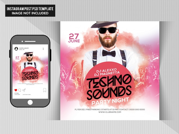 Dj-party-flyer