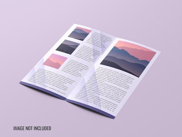 Dl bifold broschüre modell Premium PSD
