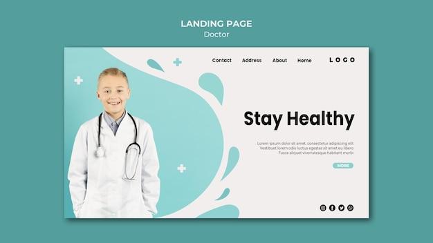 Doktor landing page