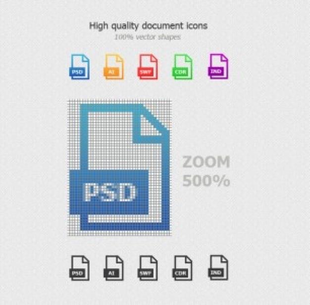 Dokument-icons