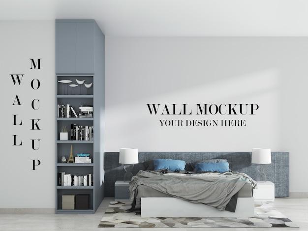 Doppelwandmodell des modernen schlafzimmerschlafzimmers