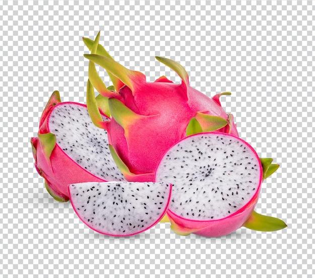 Drachenfrüchte isoliert premium psd