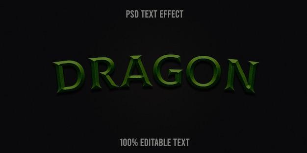 Drachentext-effekt