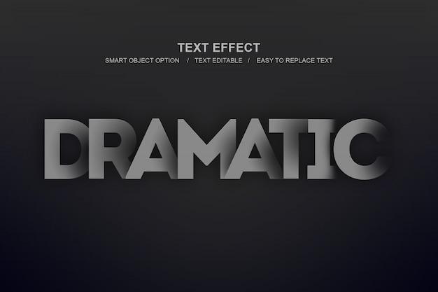 Dramatischer ebeneneffekt