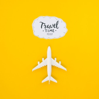 Draufsicht reiseflug abenteuerzeit