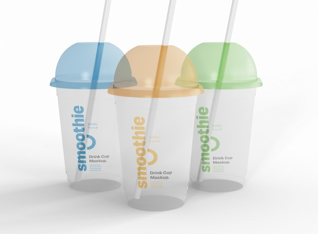 Drei smoothie-modell