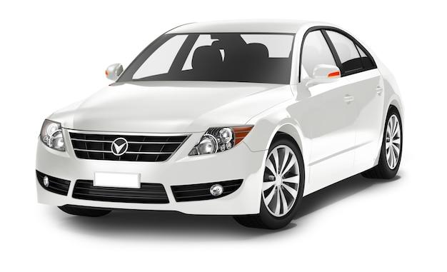 Dreidimensionales bild des autos