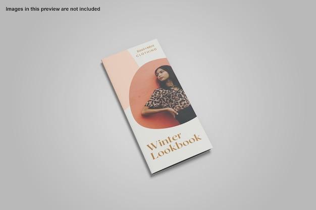 Dreifach gefaltetes broschürenmodelldesign