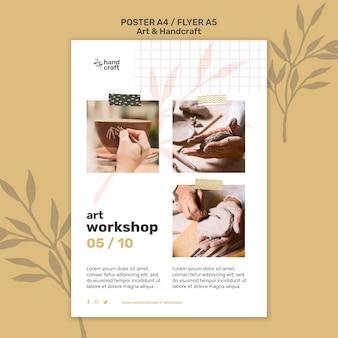 Druckvorlage für kunst und handwerk
