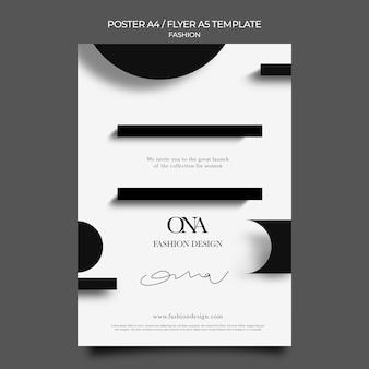 Druckvorlage für modedesign