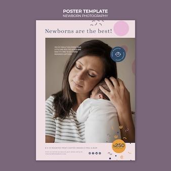Druckvorlage für neugeborenenfotografie
