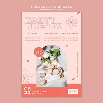 Druckvorlage für süßigkeiten und leckereien