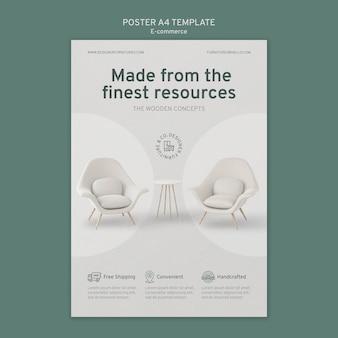E-commerce-flyer-vorlage