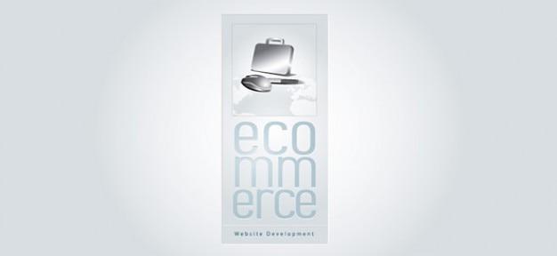 E-commerce-vektor-logo-design-vorlage