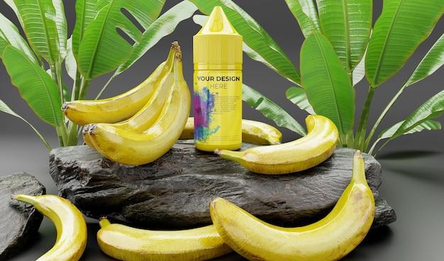 E-liquid mit bananengeschmack für elektronische zigarette
