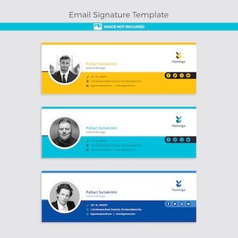 E-mail-signaturvorlage