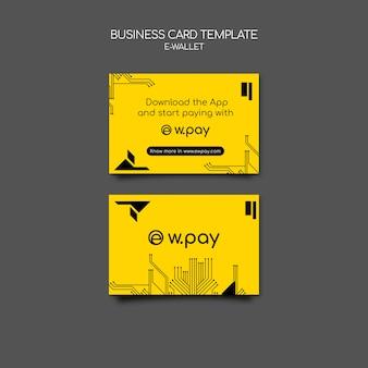 E-wallet-visitenkarte