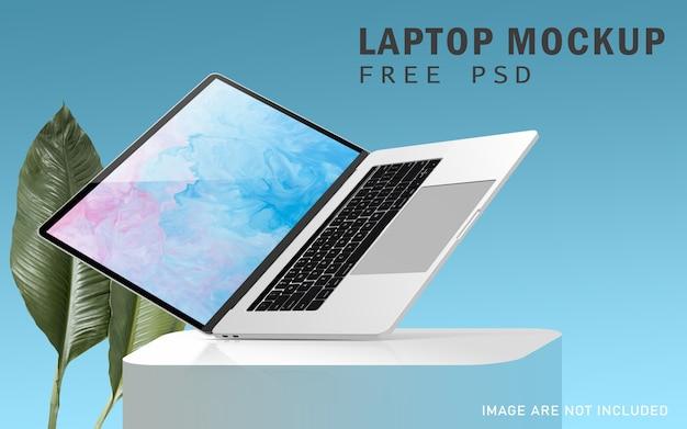Editierbares notebook pro premium-modell mit hochauflösendem kostenlosem psd