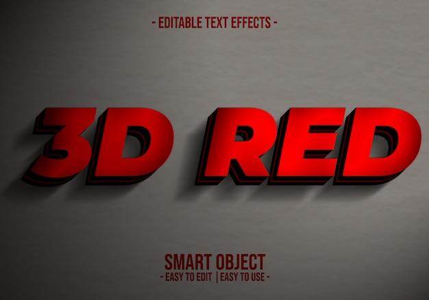 """Effekt """"3d-textstil"""""""