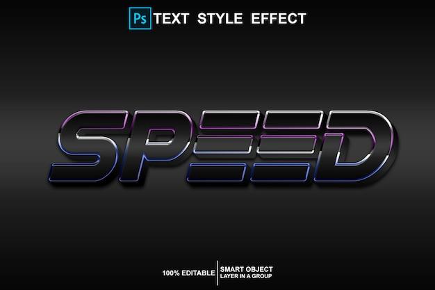 Effektvorlage für geschwindigkeitstextstile
