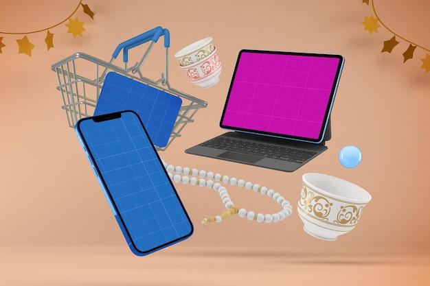 Eid responsive shopping-modell