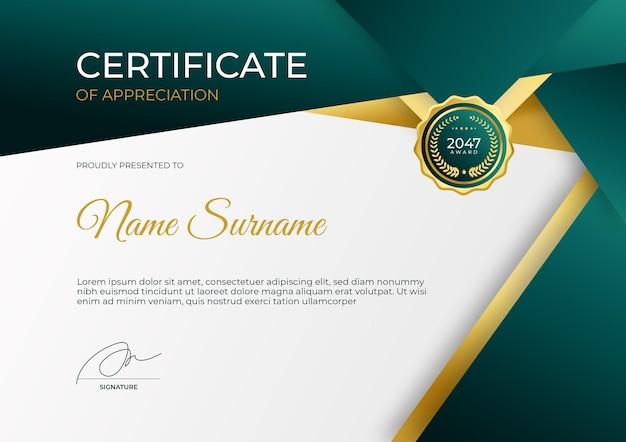 Einfache moderne zertifikatsvorlage für das online-bildungs-webinar für unternehmen