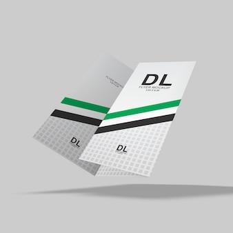 Einfaches und übersichtliches flyer-modell