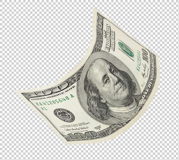 Einhundert dollar banknote