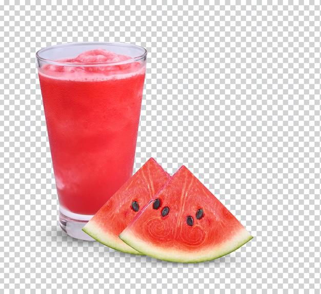 Einige preise für wassermelonensaft isoliert