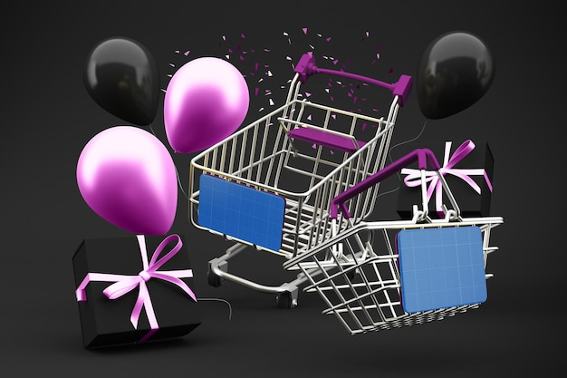 Einkaufen am black friday