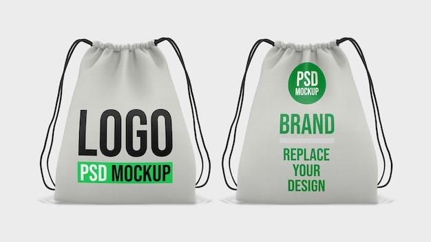 Einkaufstasche 3d-rendering mockup design