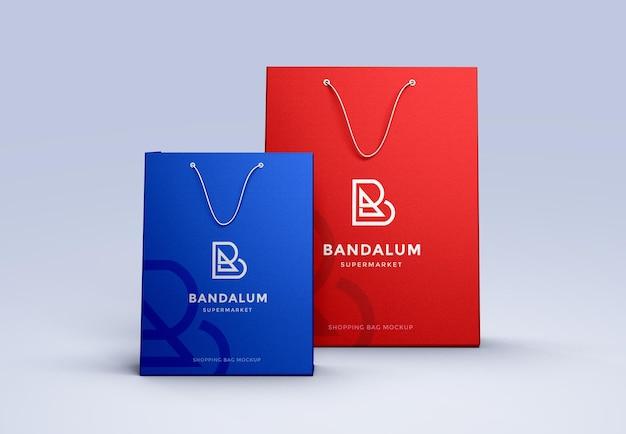 Einkaufstaschen-mockup-design