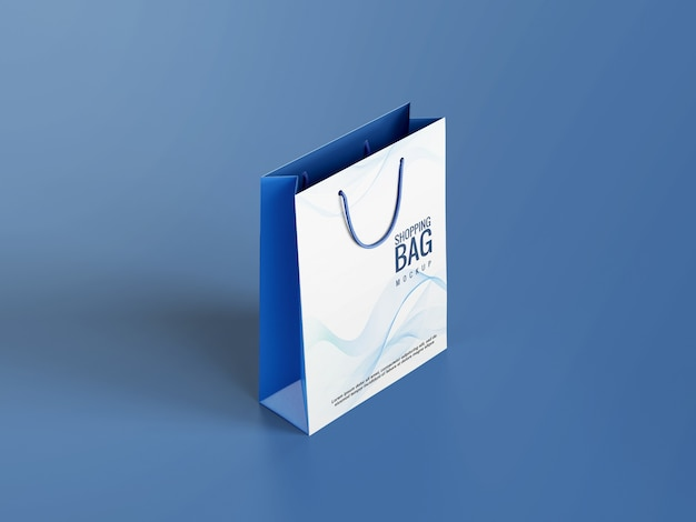 Einkaufstaschen modell design