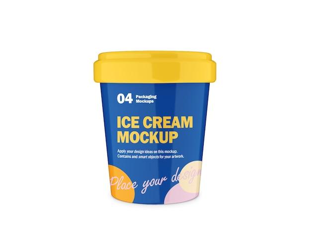 Eisverpackungs-design-modell