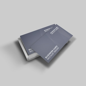 Elegant gestaltetes schönes und einfaches visitenkartenmodell