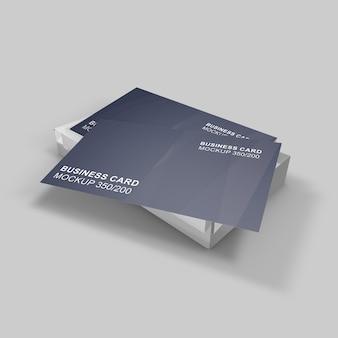 Elegant gestaltetes schönes und klassisches visitenkartenmodell