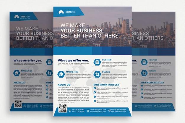 Elegante business-broschüre