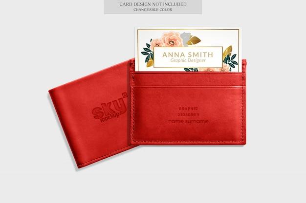 Elegantes brieftaschenmodell